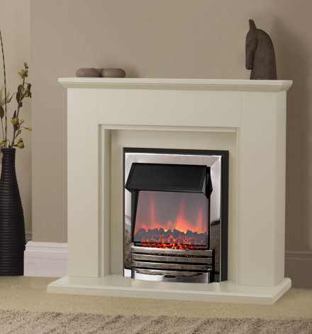 Adam Greenwich Electric Fireplace Suite